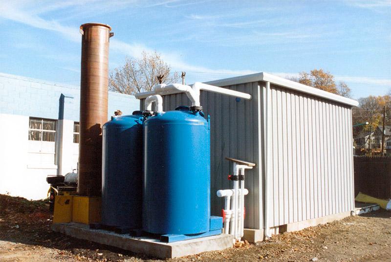 Progettazione di interventi di risanamento di falde acquifere contaminate